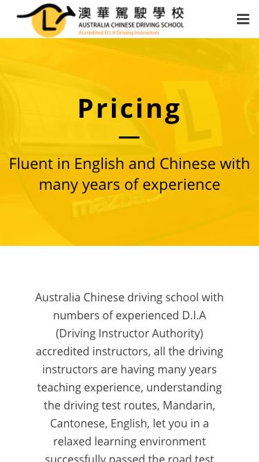Mobile Version Multilingual Website Design Melbourne Pricing