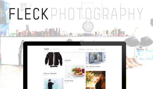 Minimal Website Design Agency Melbourne for Photographer