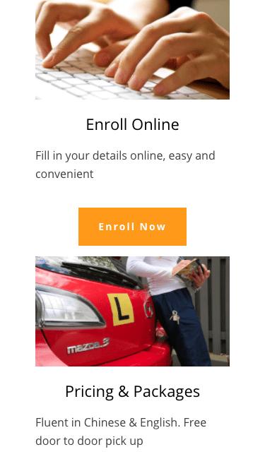 Mobile Version Multilingual Website Design Melbourne